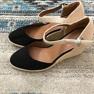 0c002ff2315 Susina Shoes - Susina Lily Ankle Strap Wedges